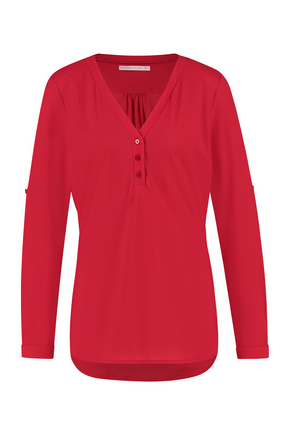 Evi blouse red