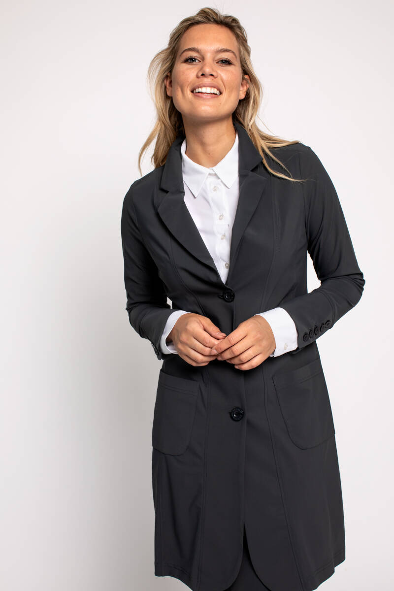 Studio Anneloes Skyhigh blazer dark grey