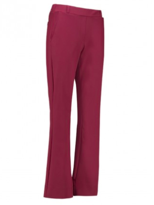 Flair bonded trousers - Burgundy