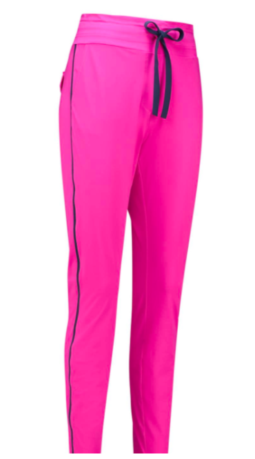 Upstairs piping trousers - Pink