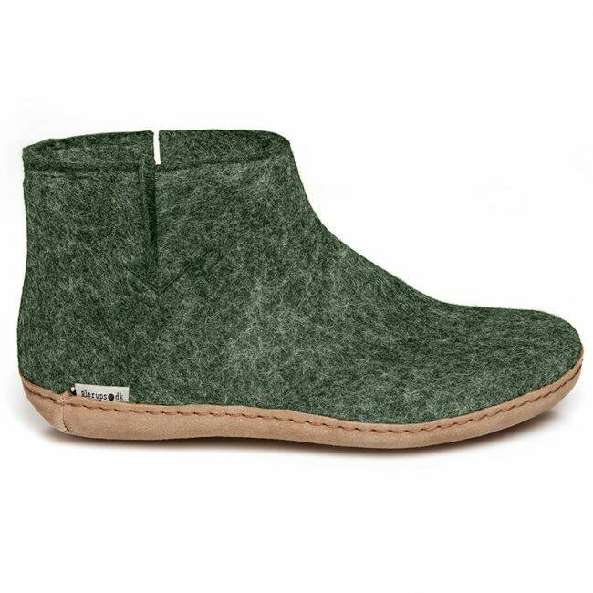 Boot Leather Forest