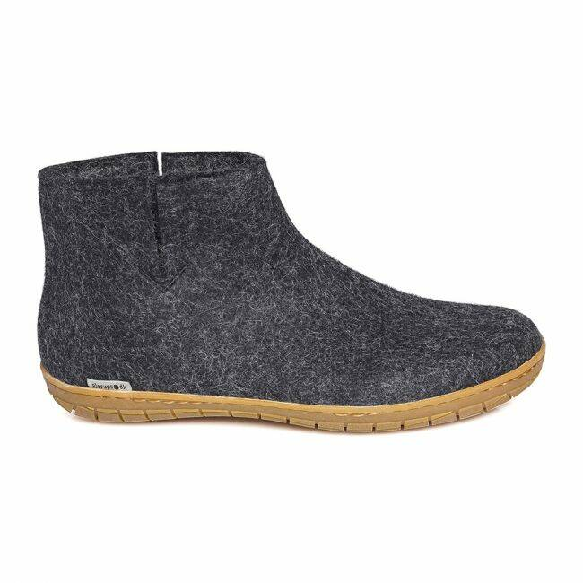 Boot Black Rubber charcoal