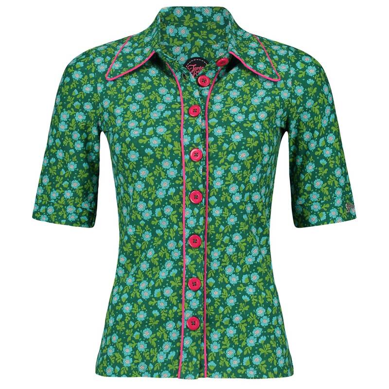 Button shirt Ditsy - Groen