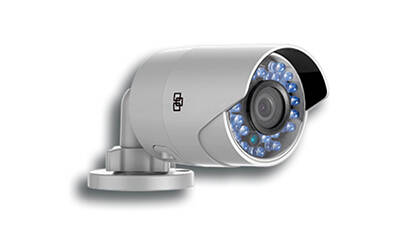 2.1 MP Outdoor bullet Camera, WIFI, buiten IR bullet met SD Card (16GB) & PSU