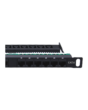 Zybrnet 500 Cat 6 Patch panel 0.5HE