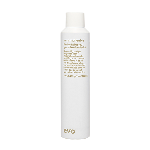 EVO miss malleable flexible hairspray