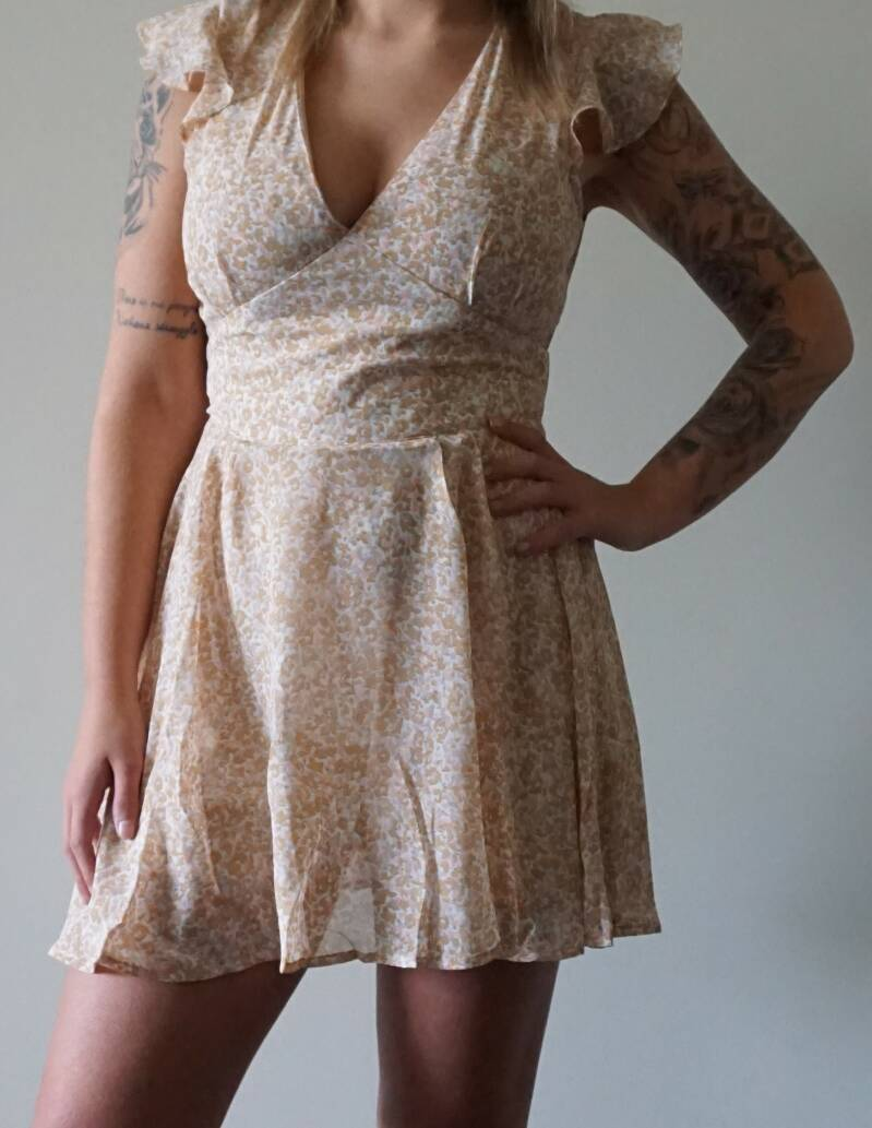 PIA PLAYSUIT PINK
