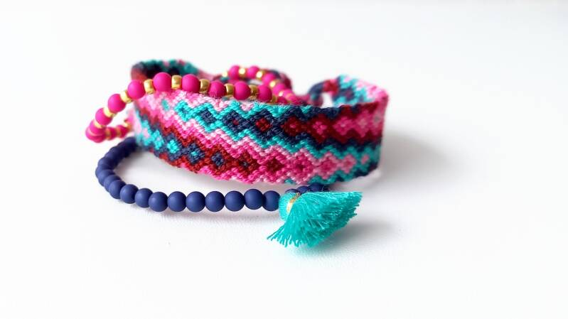 Blue & Pink small