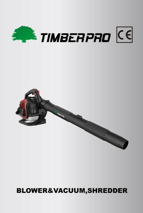 Timberpro 3 in 1 blower vac user manual. Click on link.