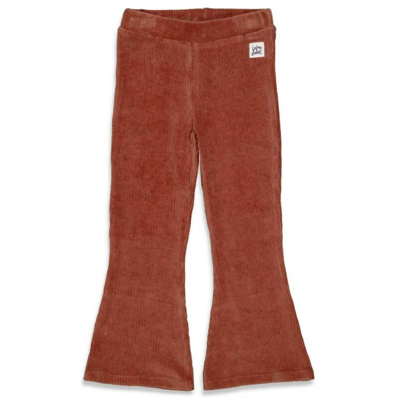 Jubel flaired broek bruin - Club Amour
