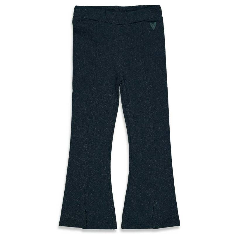 Jubel flaired broek blauw - Club Amour
