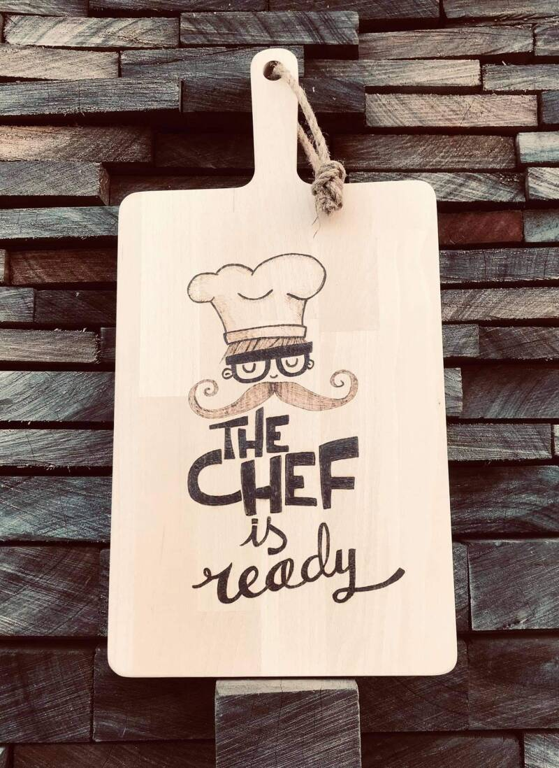 Tapasplank : the chef is ready