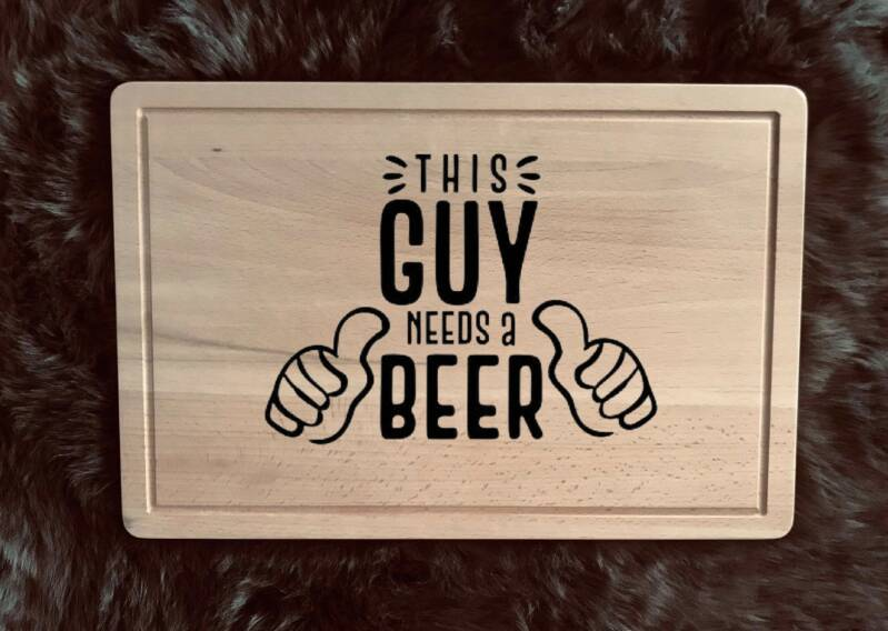 Snijplank : This guy needs a beer
