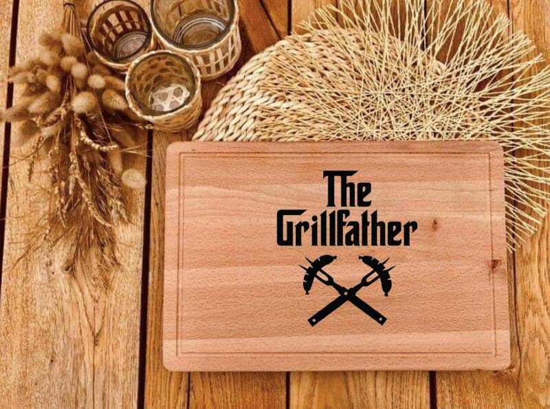 Snijplank : the grillfather