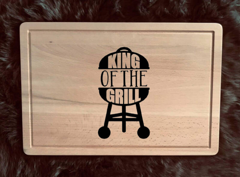 Snijplank : king of the grill