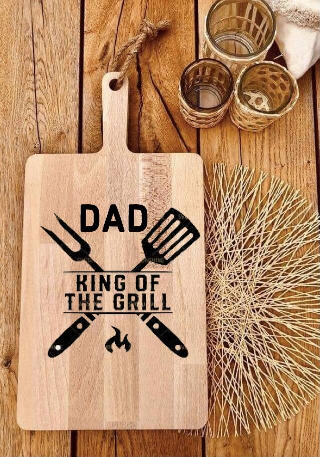 Tapasplank : Dad king of the grill