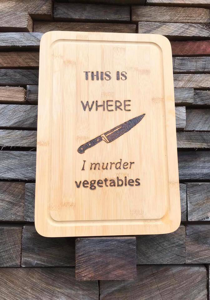Snijplank : this is where I murder vegetables