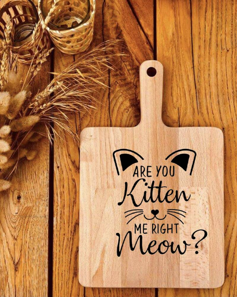 Hapjesplank : are you kitten me right meow ?