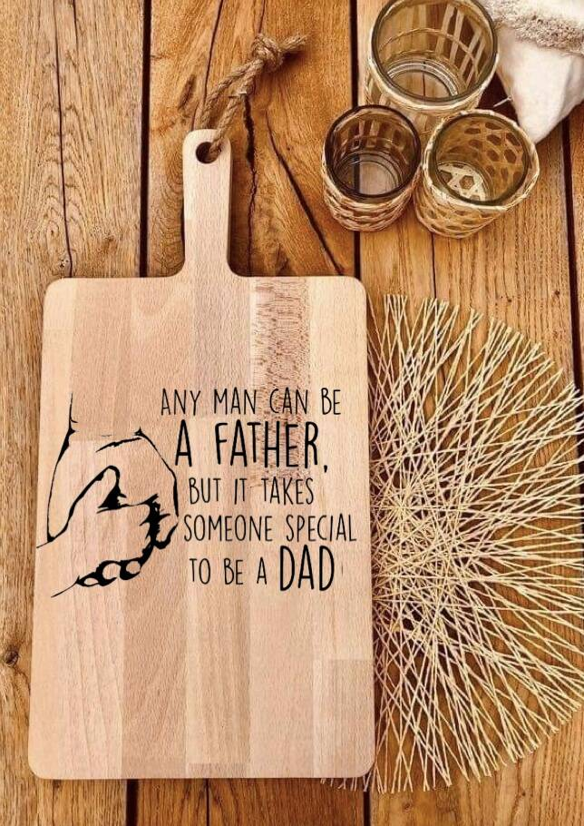 Tapasplank : any man can be a father …