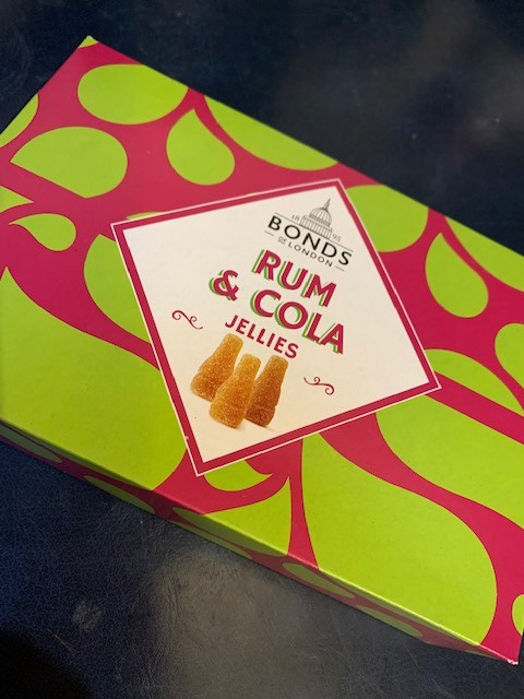 Rum and Cola Jellies