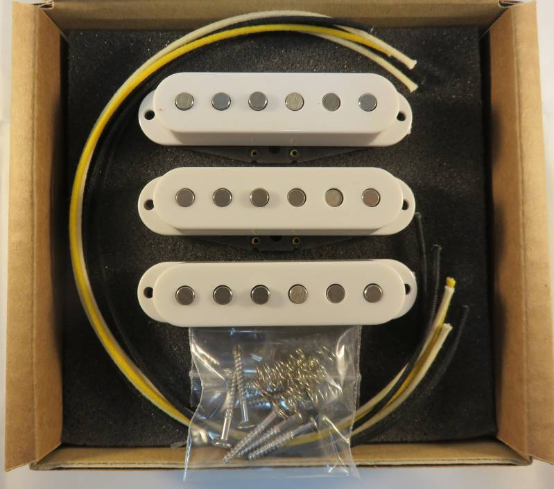 Pickup Kit Stratocaster Modern Stagger