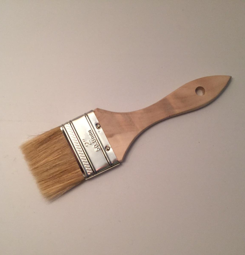 """2"""" Wooden Handle Stain/Paint Brush"""