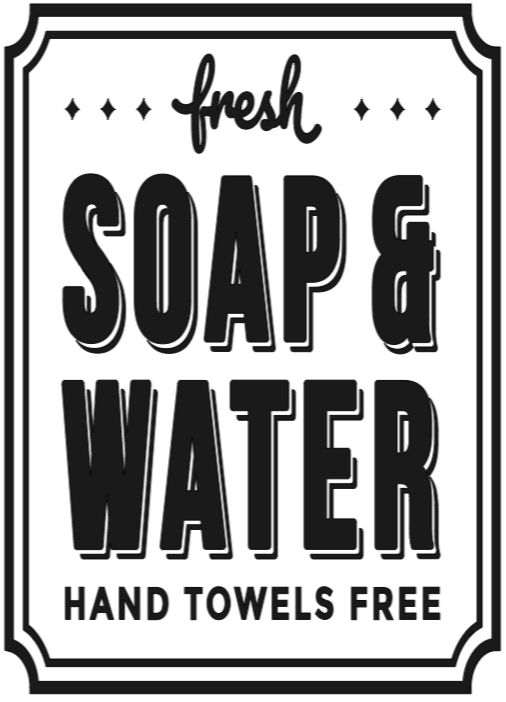 Fresh Soap and Water - 12 x 20