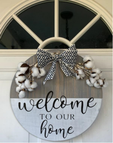 """Welcome To Our Home - 15"""""""