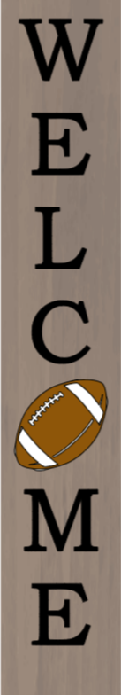 Welcome with Football - 8 x 46