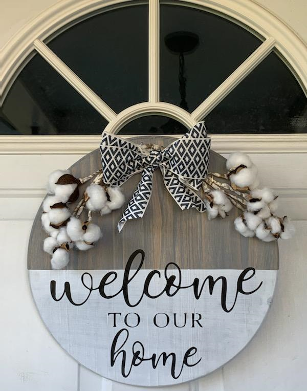 """Welcome To Our Home - 15"""" Premade Board"""