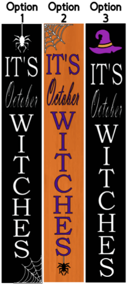 It's October Witches - 8 x46 3DB