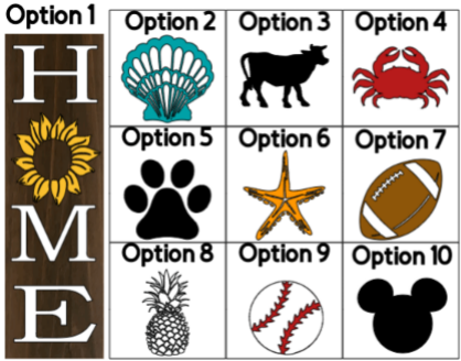 """Home With """"O"""" Option Vertical - 8 x 24 3DB"""