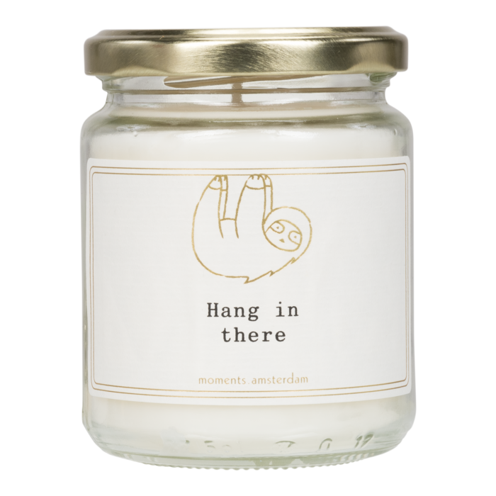 MOMENTS of light - 'Hang in there' Scented Candle
