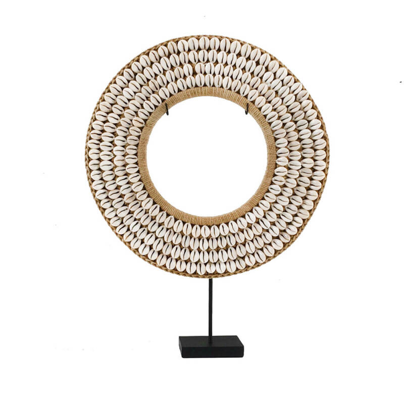 Bazar Bizar - The Cowrie Disc on Stand - natural