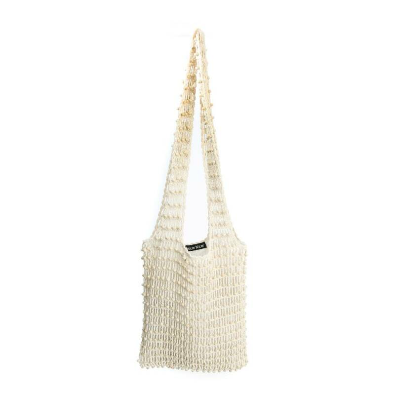 Bazar Bizar - The Day in Day out Tote - White