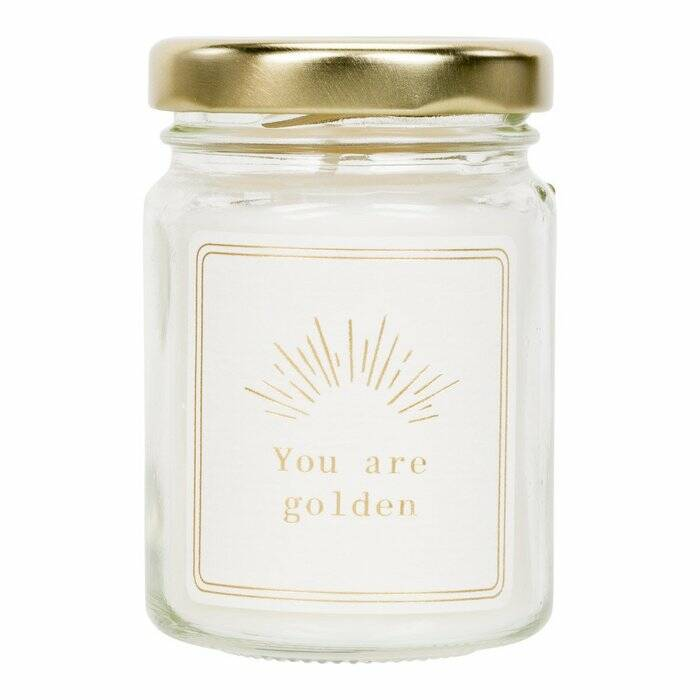 MOMENTS of light - YOU ARE GOLDEN Scented Candle (mini)