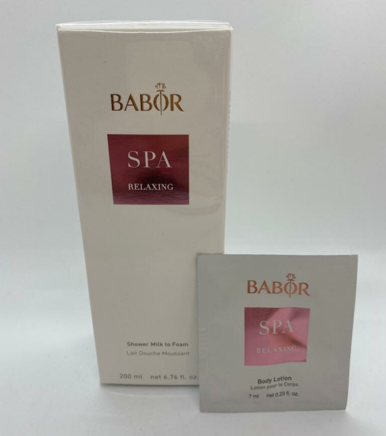 BABOR SPA Relaxing - Shower Milk to Foam