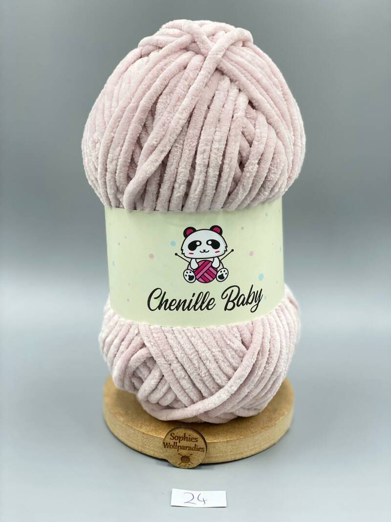 Baby Chenille 100-24 rose