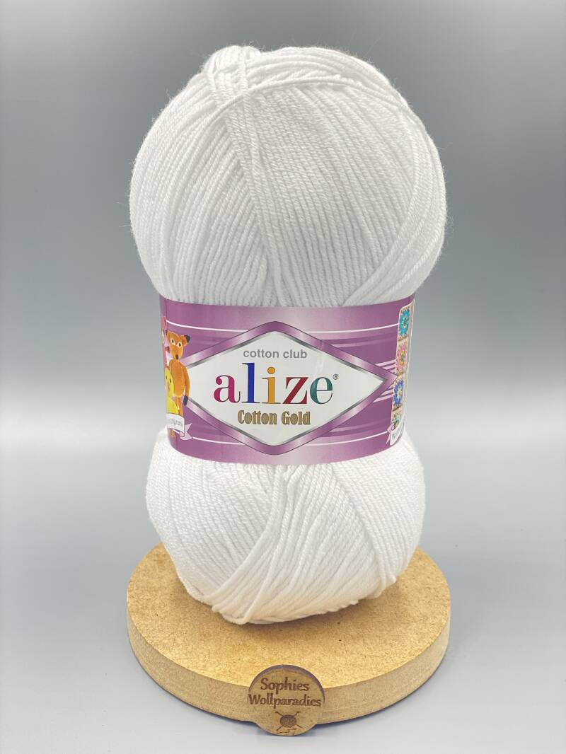 Alize Cotton Gold 55 weis