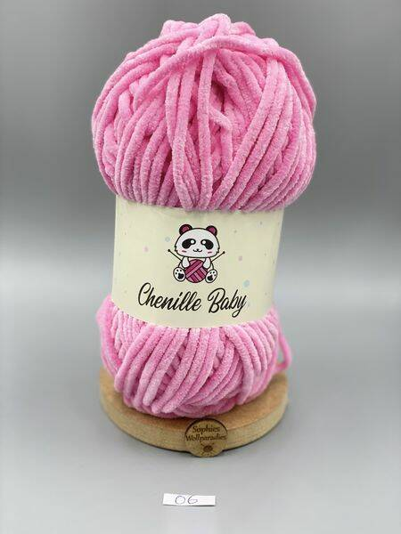 Baby Chenille 100-06 rosa