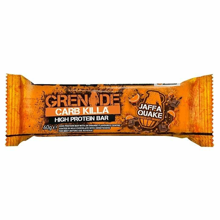 Carb Killa Bar Jaffa Quake - 60 gram
