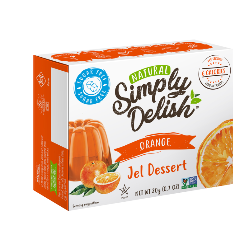 Simply Delish Sinaasappel Jelly - 20 gram