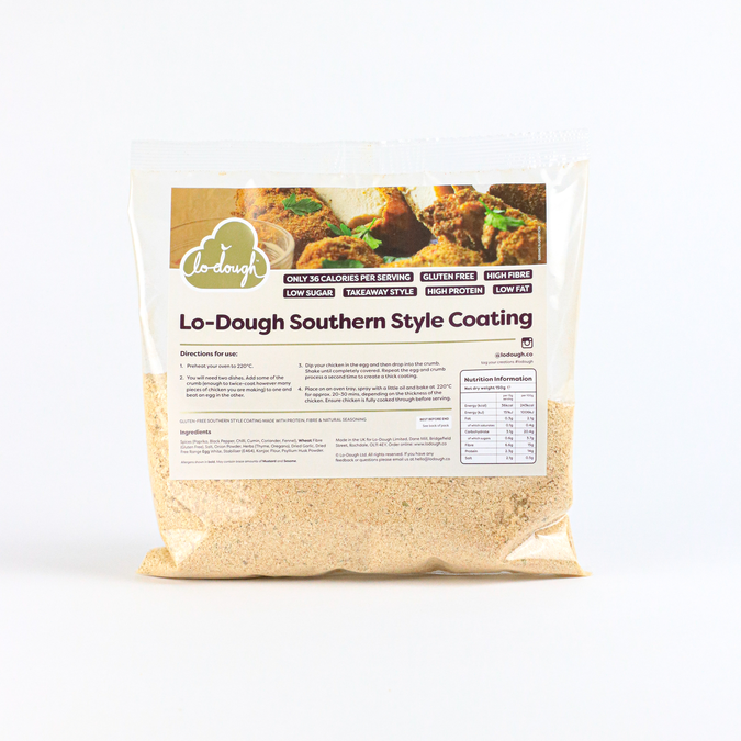 Lo Dough Southern Style Coating - 150 gram