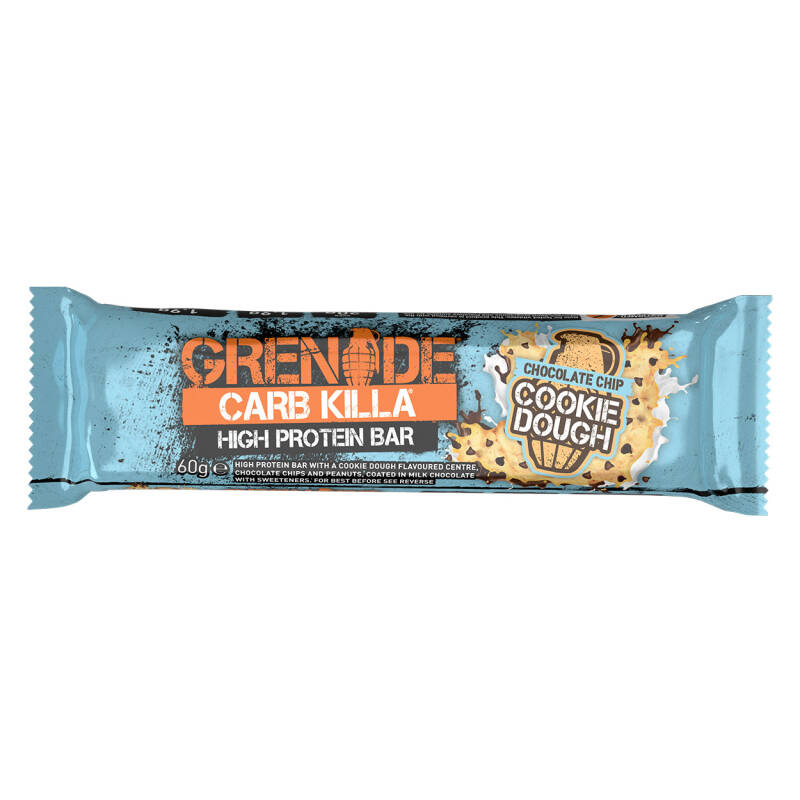 Carb Killa Bar Chocolate Chip Cookie Dough - 60 gram