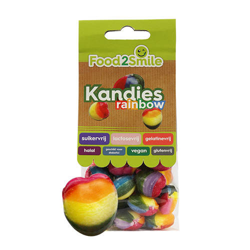Food2Smile Kandies Rainbow - 100 gram