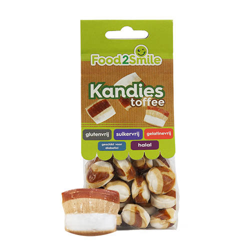 Food2Smile Kandies Toffee - 100 gram