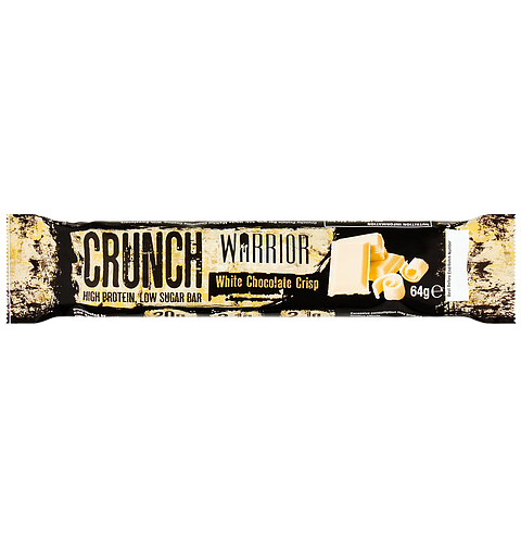 Warrior Crunch Bar White Chocolate Crisp - 64 gram