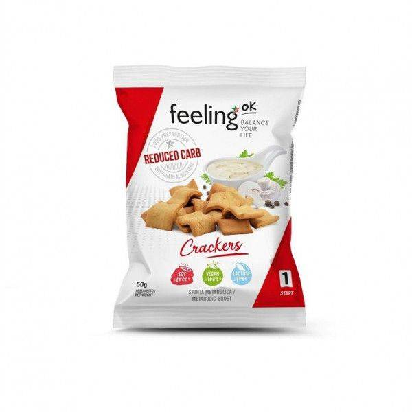 Naturel Crackers - 50 gram