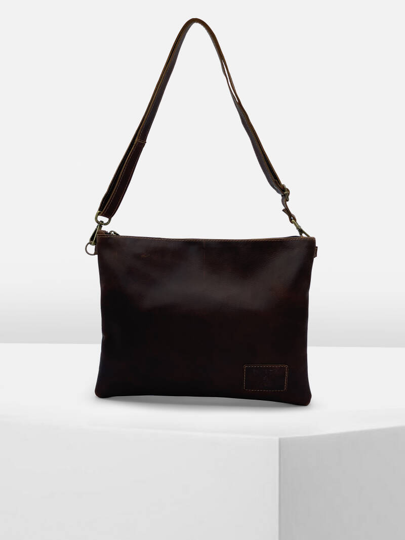 ShoulderBag/CrossBody HOLLAND Walnut Brown