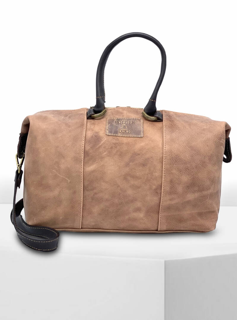 Handbag/ShoulderBag LONDON Peanut Brown